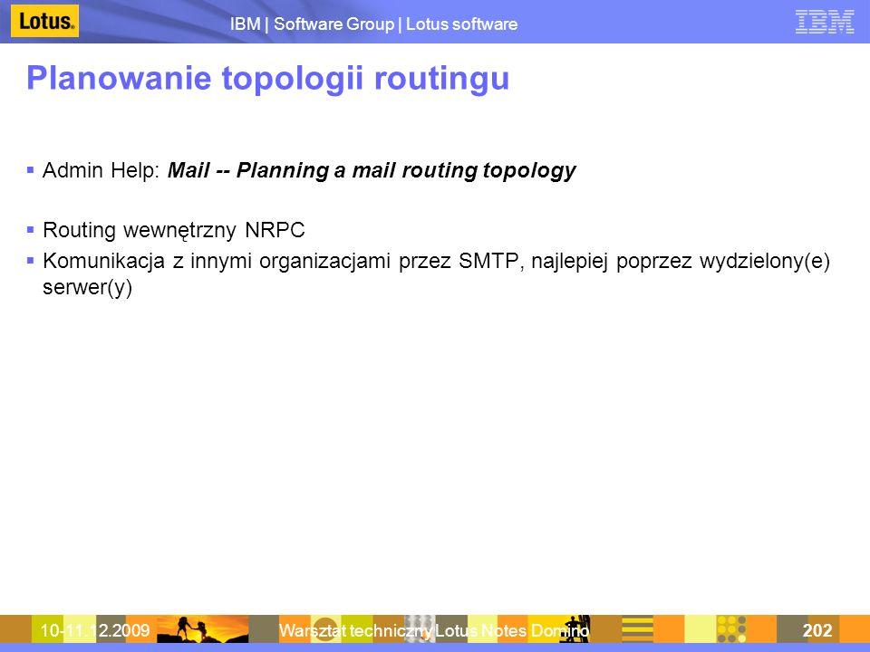 Planowanie topologii routingu