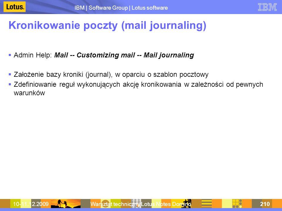 Kronikowanie poczty (mail journaling)