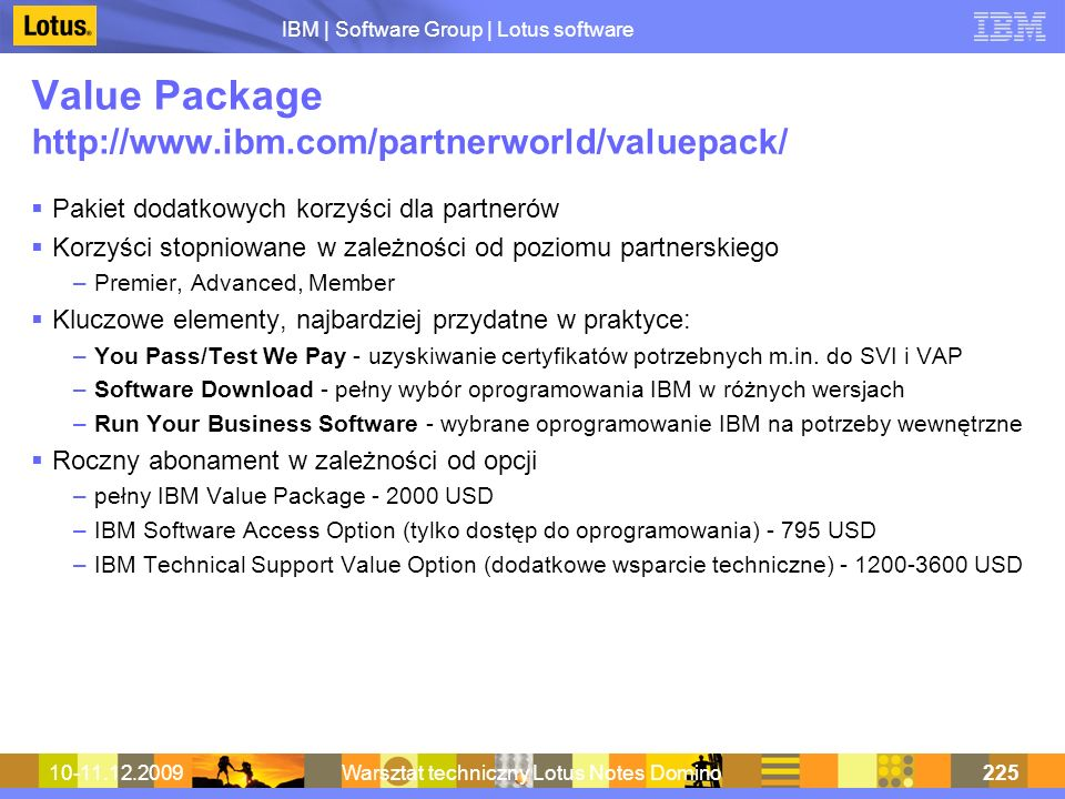 Value Package