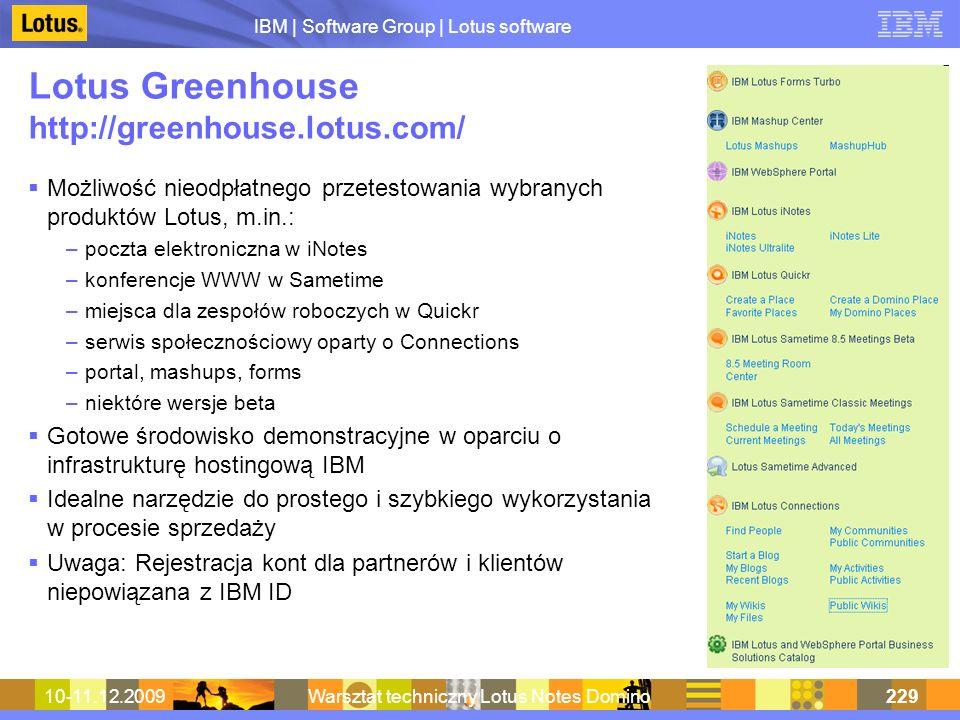 Lotus Greenhouse http://greenhouse.lotus.com/