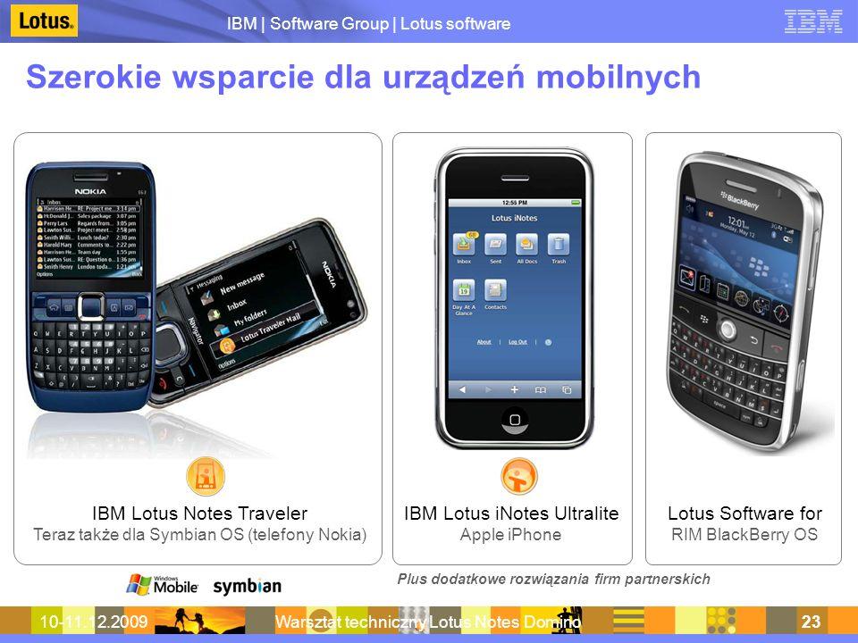 Szerokie wsparcie dla urządzeń mobilnych