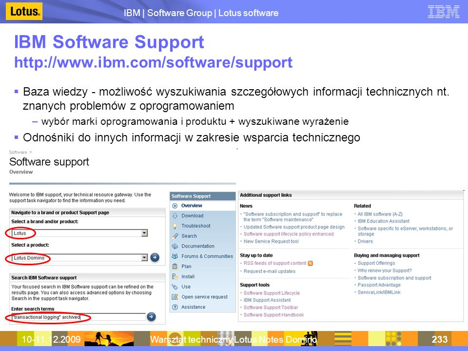 IBM Software Support