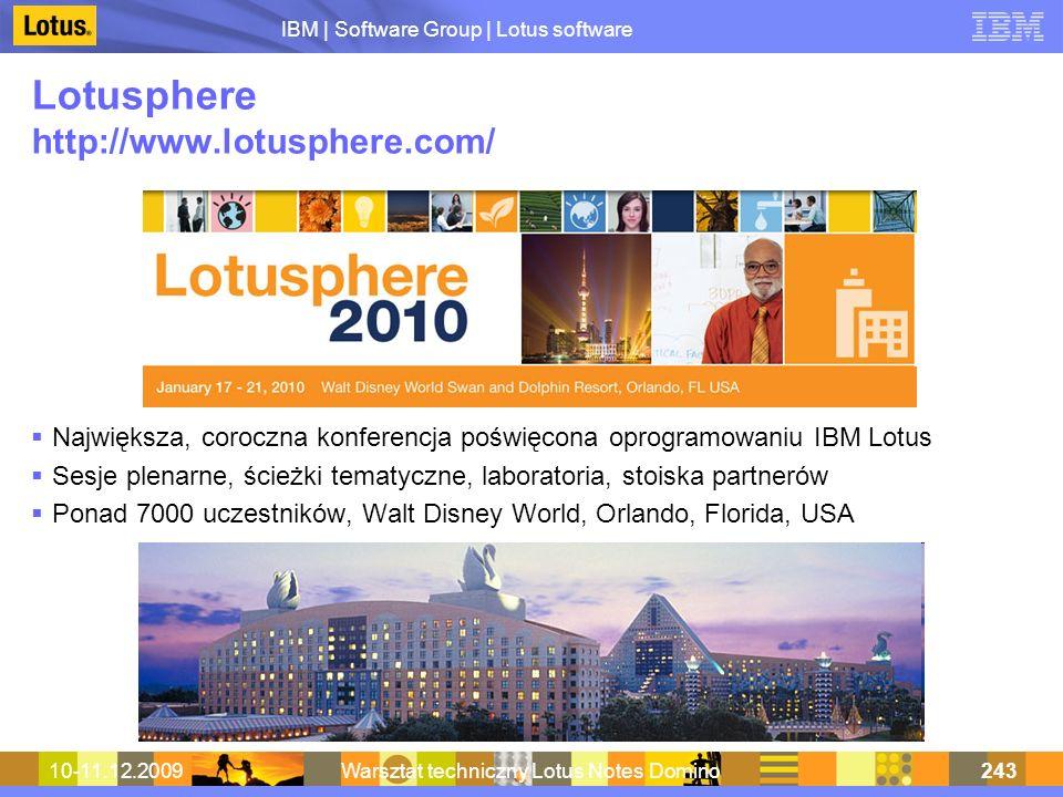 Lotusphere http://www.lotusphere.com/