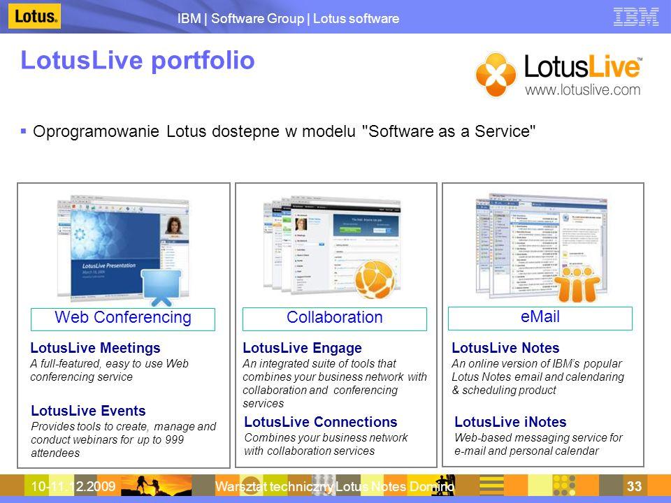 Warsztat techniczny Lotus Notes Domino