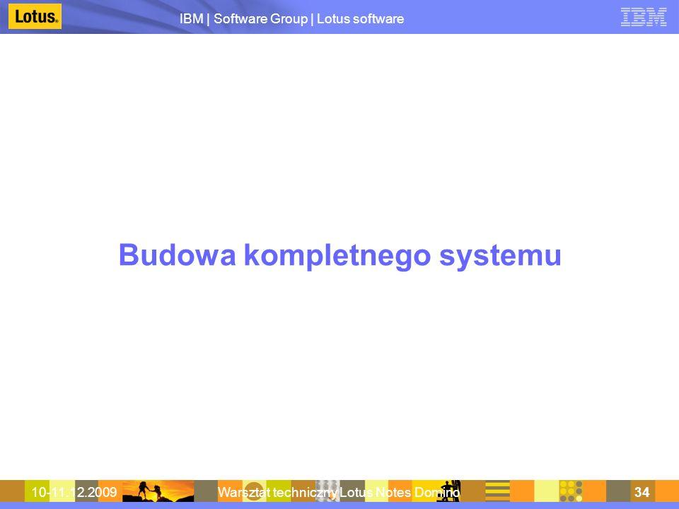 Budowa kompletnego systemu
