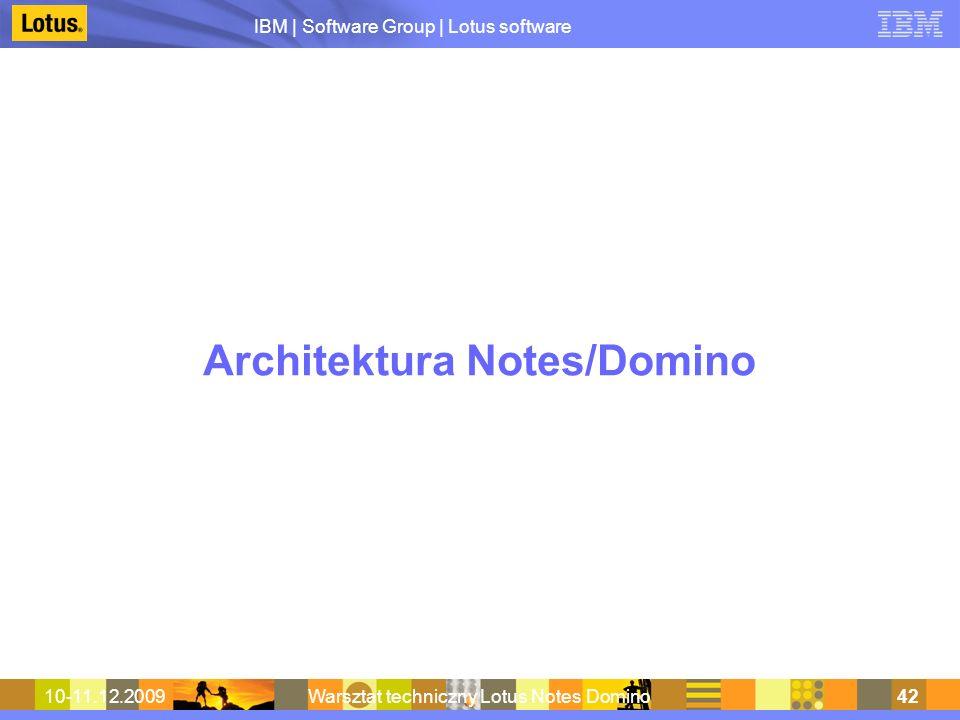 Architektura Notes/Domino