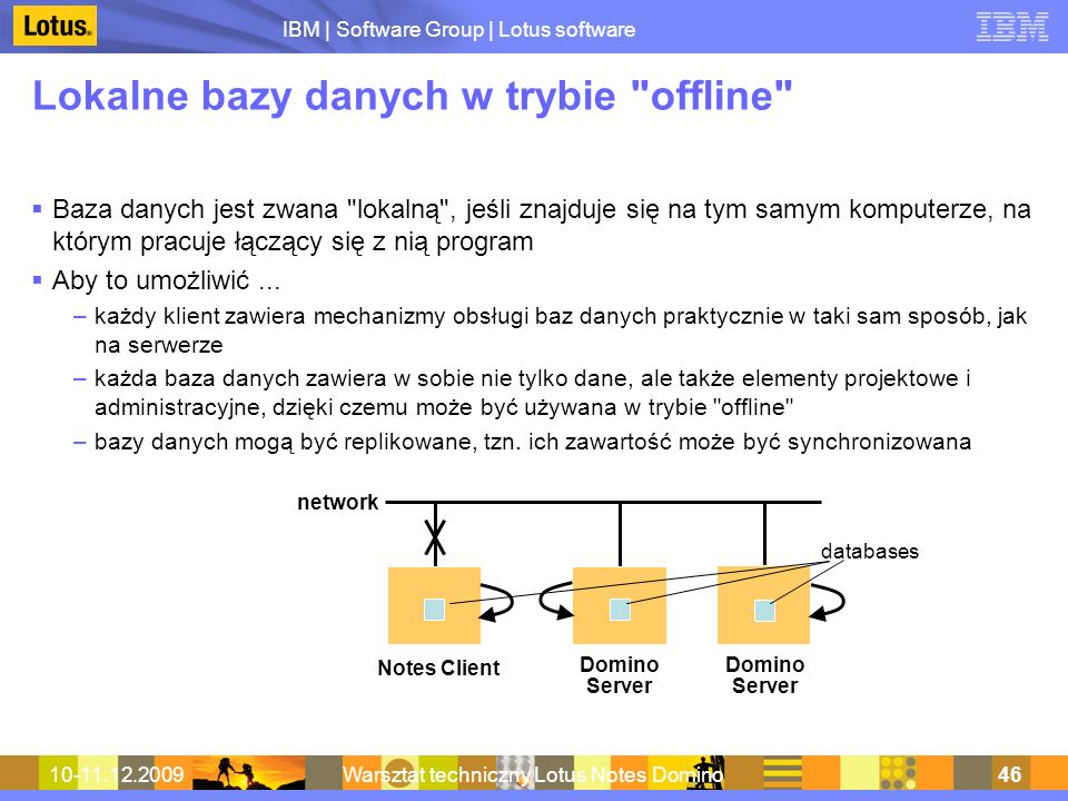Lokalne bazy danych w trybie offline