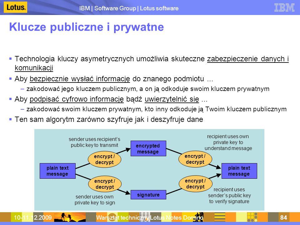 Klucze publiczne i prywatne