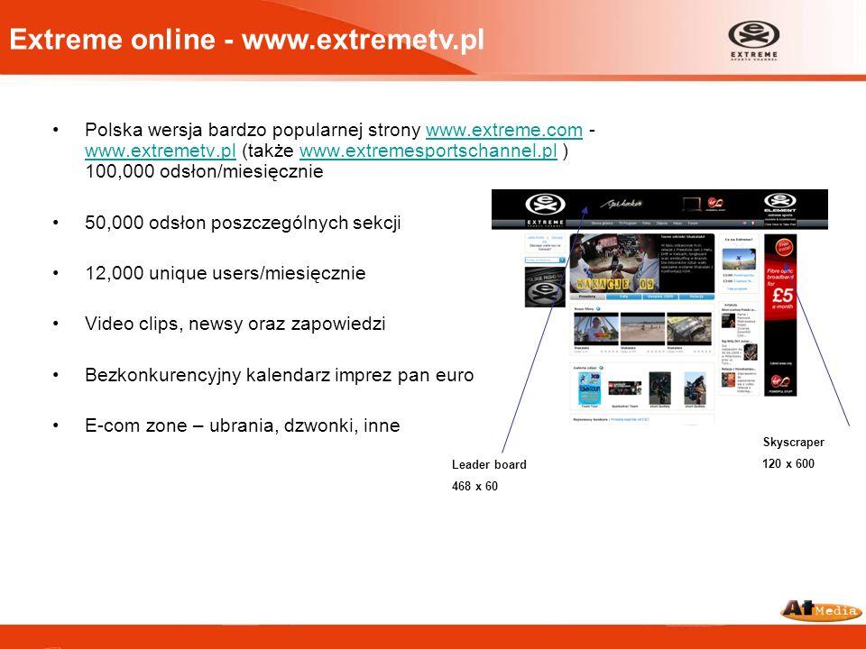 Extreme online - www.extremetv.pl