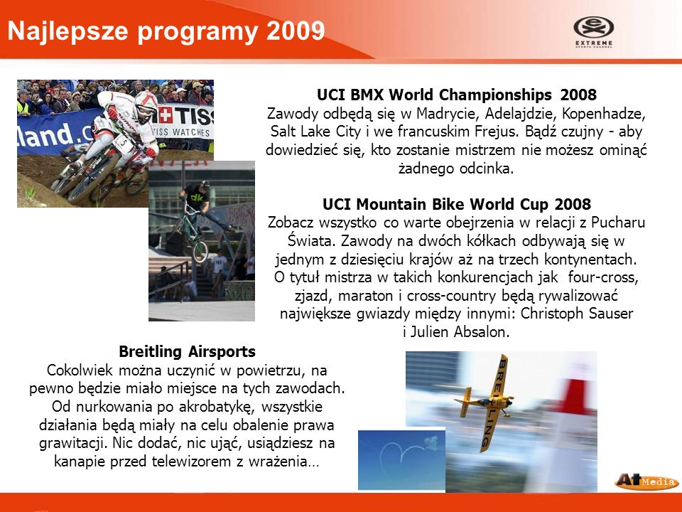 Najlepsze programy 2009 UCI BMX World Championships 2008