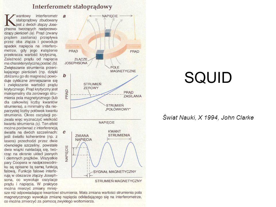 SQUID Świat Nauki, X 1994, John Clarke