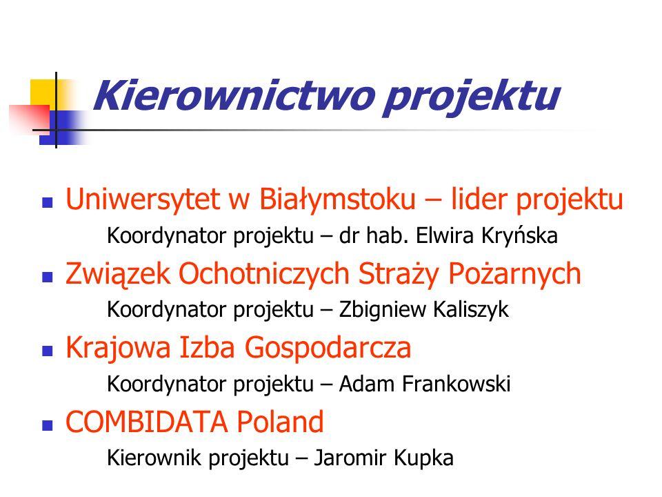 Kierownictwo projektu
