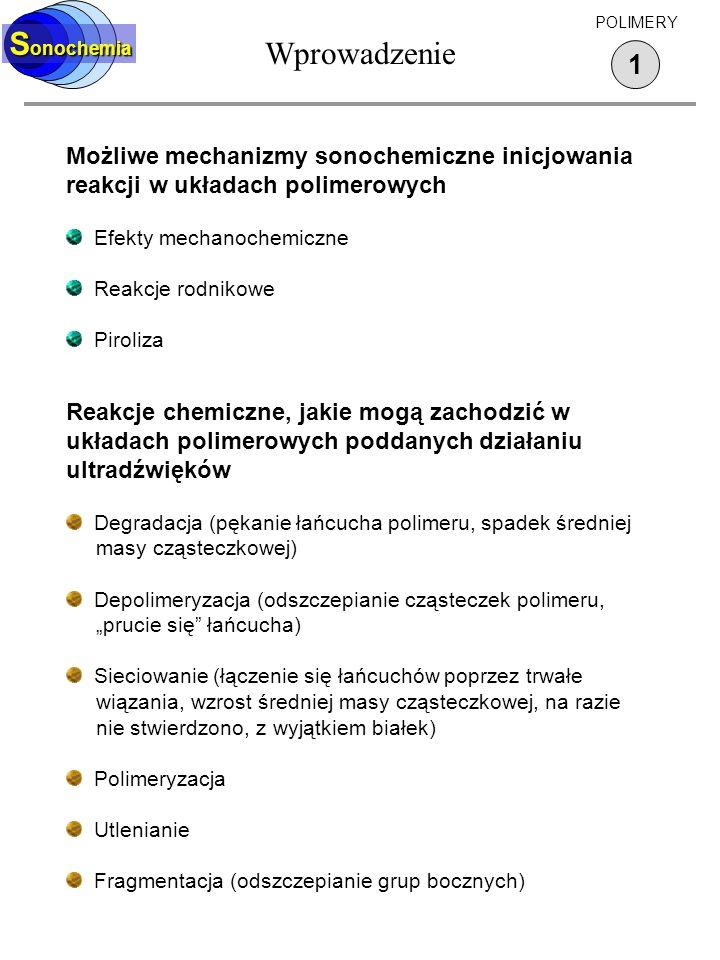 Wprowadzenie Sonochemia 1