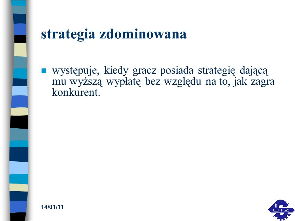 strategia zdominowana