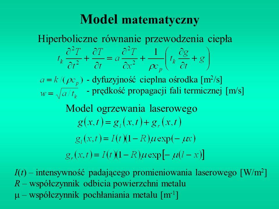 Hiperboliczne równanie przewodzenia ciepła