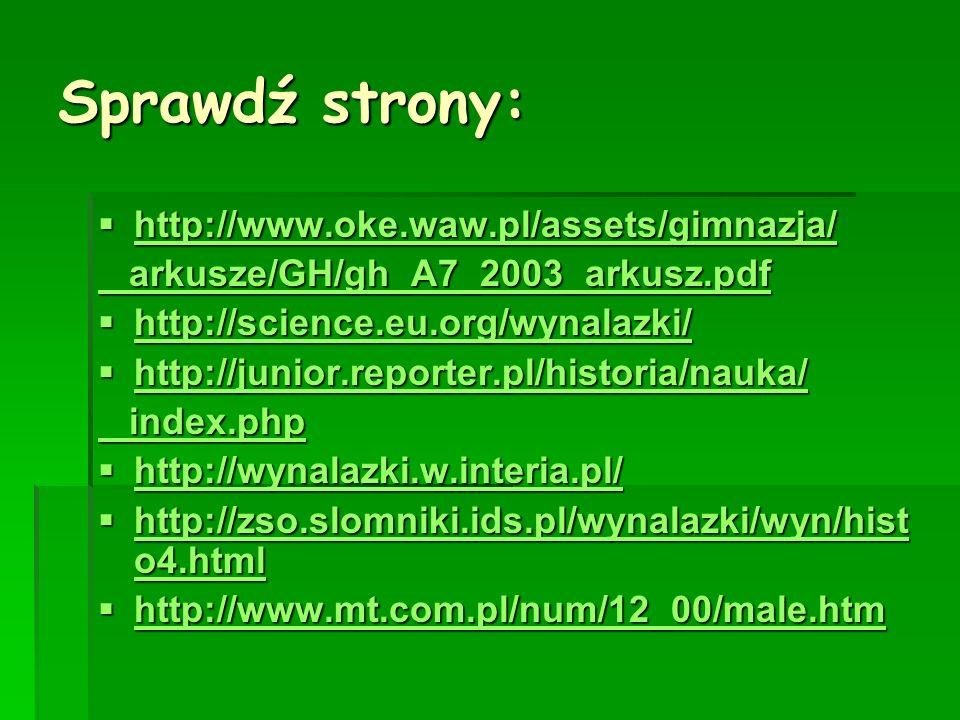 Sprawdź strony: http://www.oke.waw.pl/assets/gimnazja/
