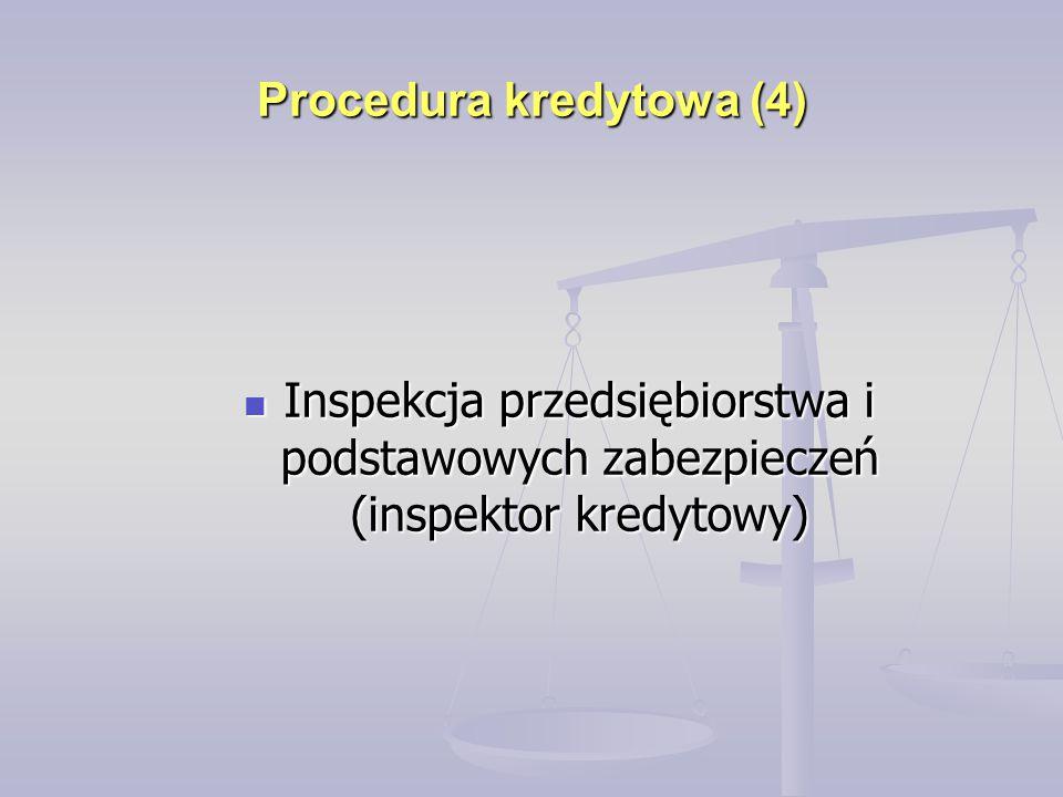 Procedura kredytowa (4)