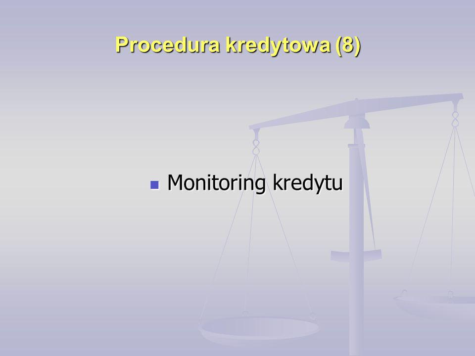 Procedura kredytowa (8)