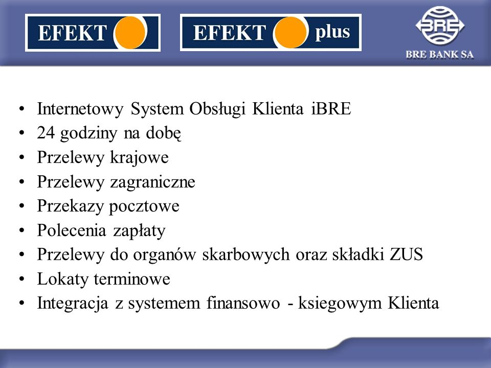 Internetowy System Obsługi Klienta iBRE