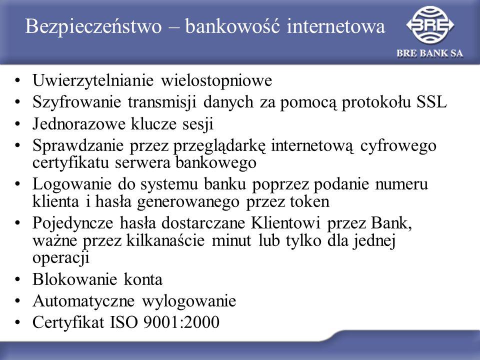 Bezpieczeństwo – bankowość internetowa