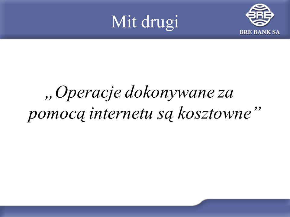 """""""Operacje dokonywane za pomocą internetu są kosztowne"""