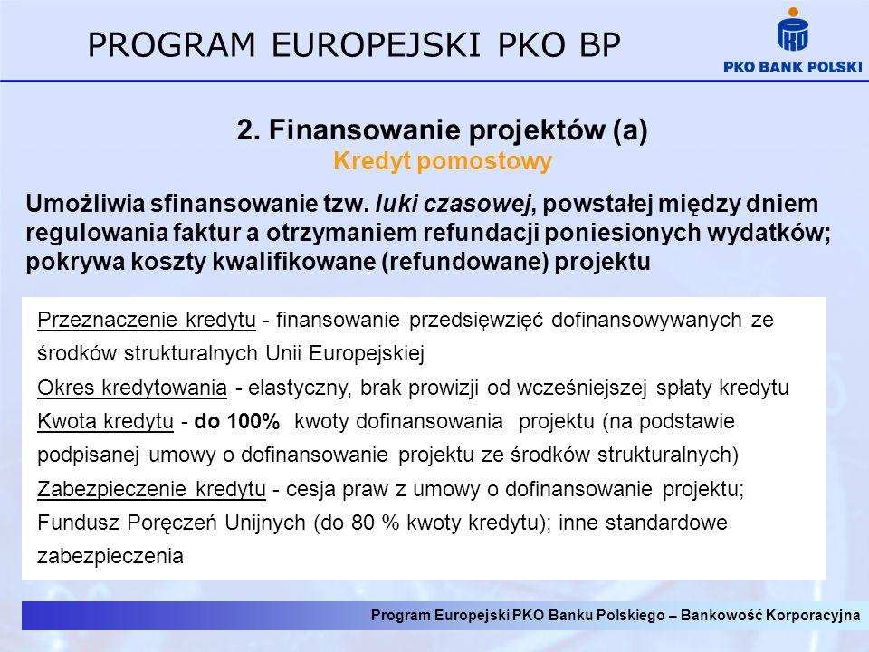 2. Finansowanie projektów (a)