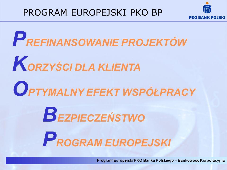 PROGRAM EUROPEJSKI PKO BP