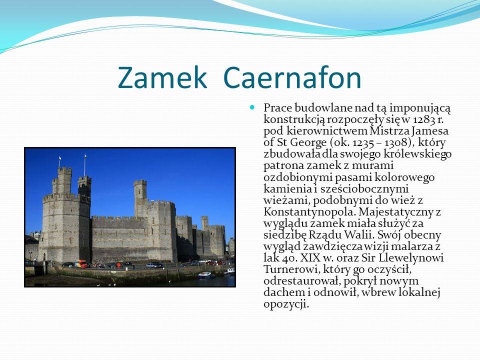 Zamek Caernafon