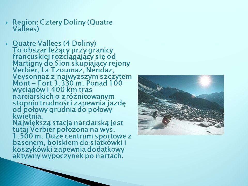 Region: Cztery Doliny (Quatre Vallees)