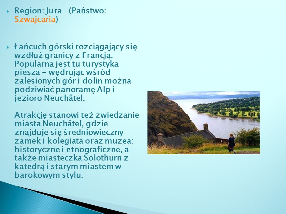 Region: Jura (Państwo: Szwajcaria)