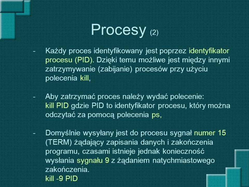 Procesy (2)
