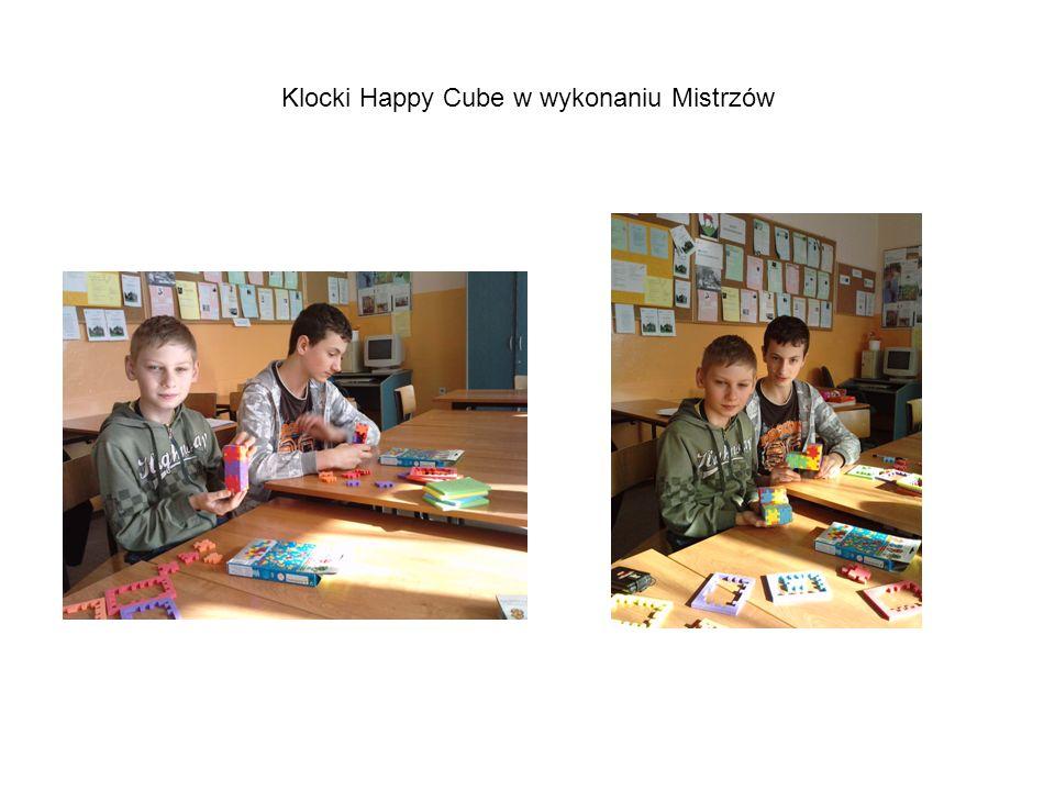 Klocki Happy Cube w wykonaniu Mistrzów