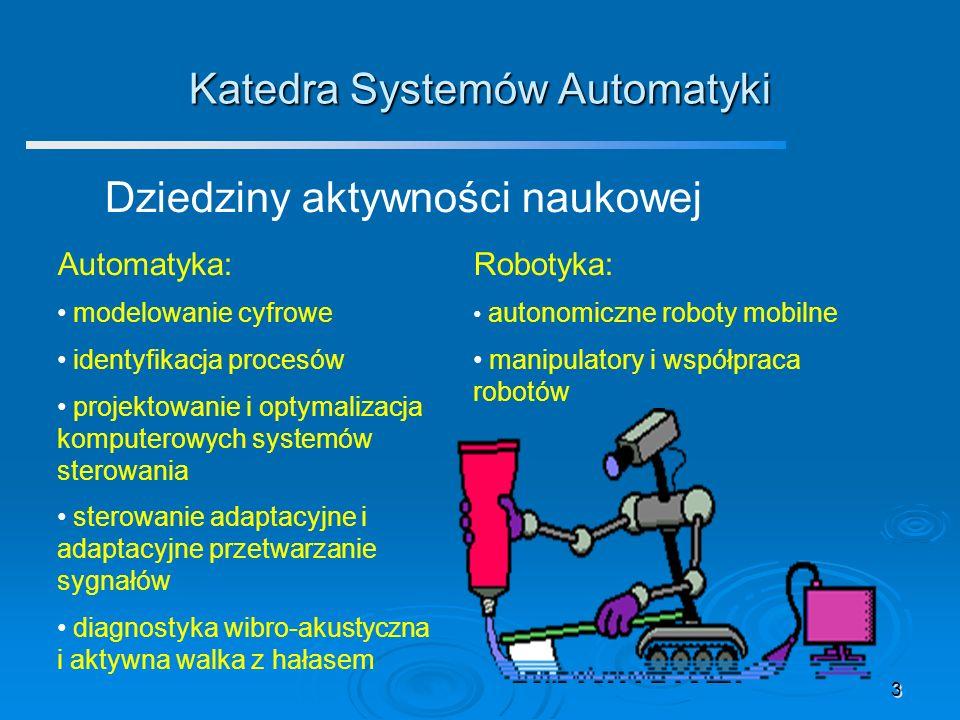Katedra Systemów Automatyki