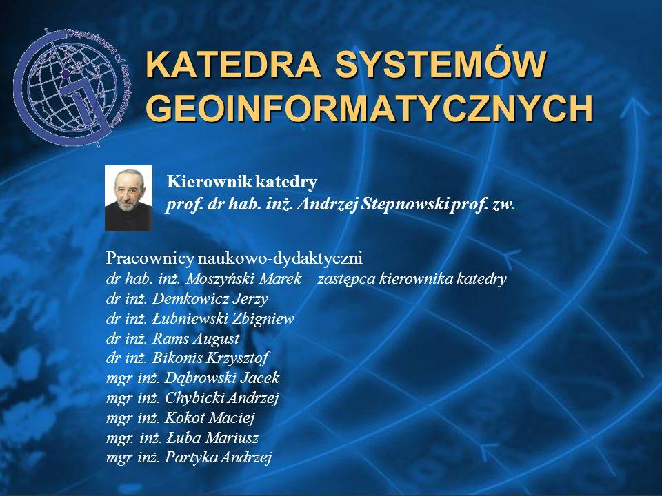 KATEDRA SYSTEMÓW GEOINFORMATYCZNYCH