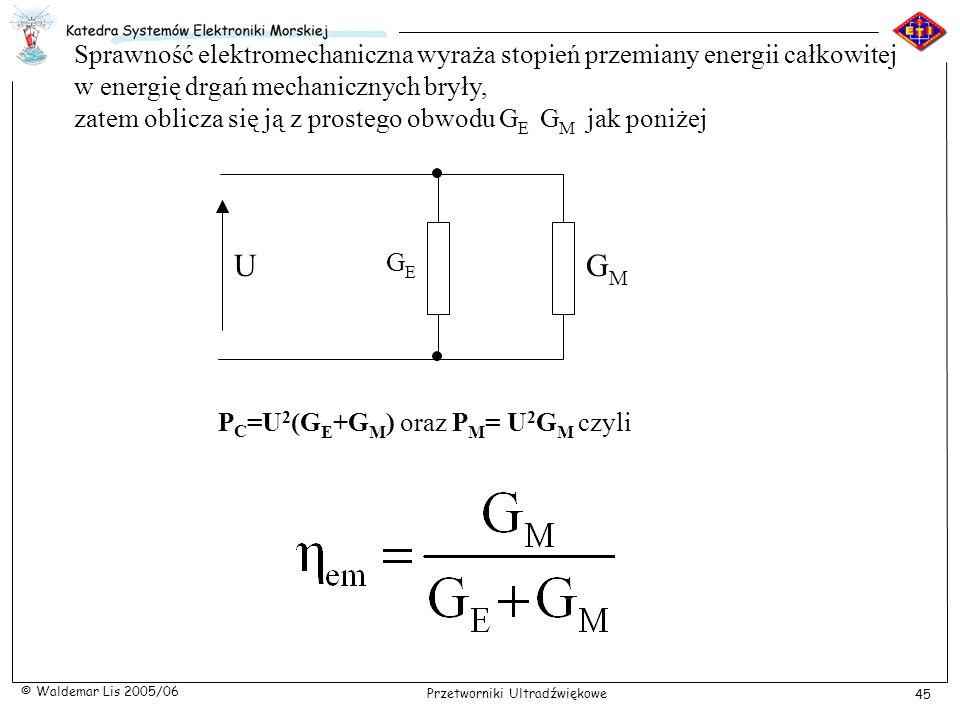 Sprawność elektromechaniczna wyraża stopień przemiany energii całkowitej