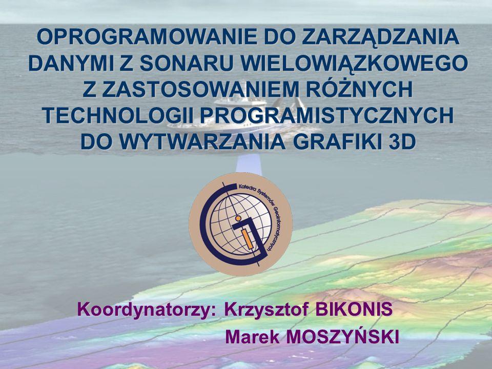 Koordynatorzy: Krzysztof BIKONIS Marek MOSZYŃSKI