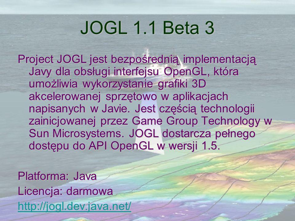 JOGL 1.1 Beta 3