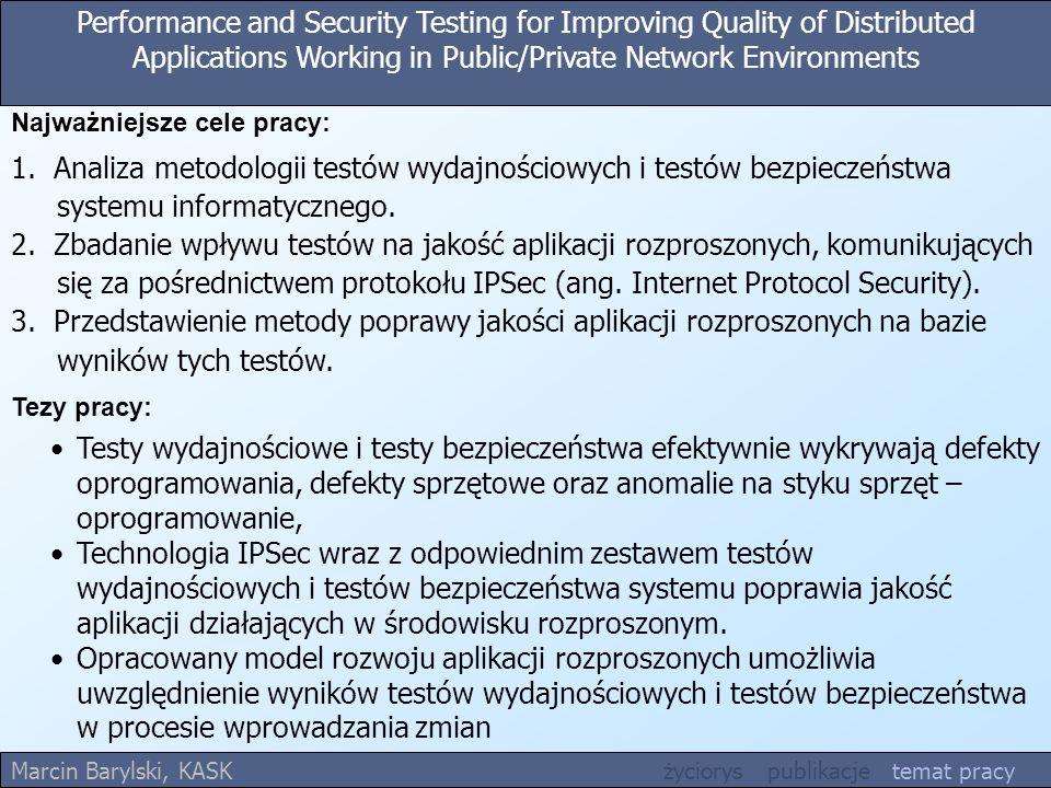 1. Analiza metodologii testów wydajnościowych i testów bezpieczeństwa
