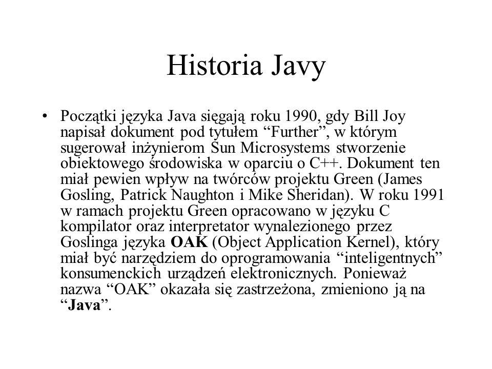 Historia Javy
