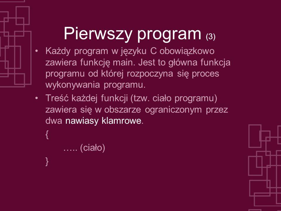 Pierwszy program (3)