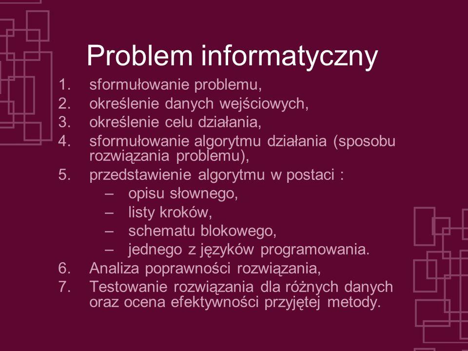 Problem informatyczny