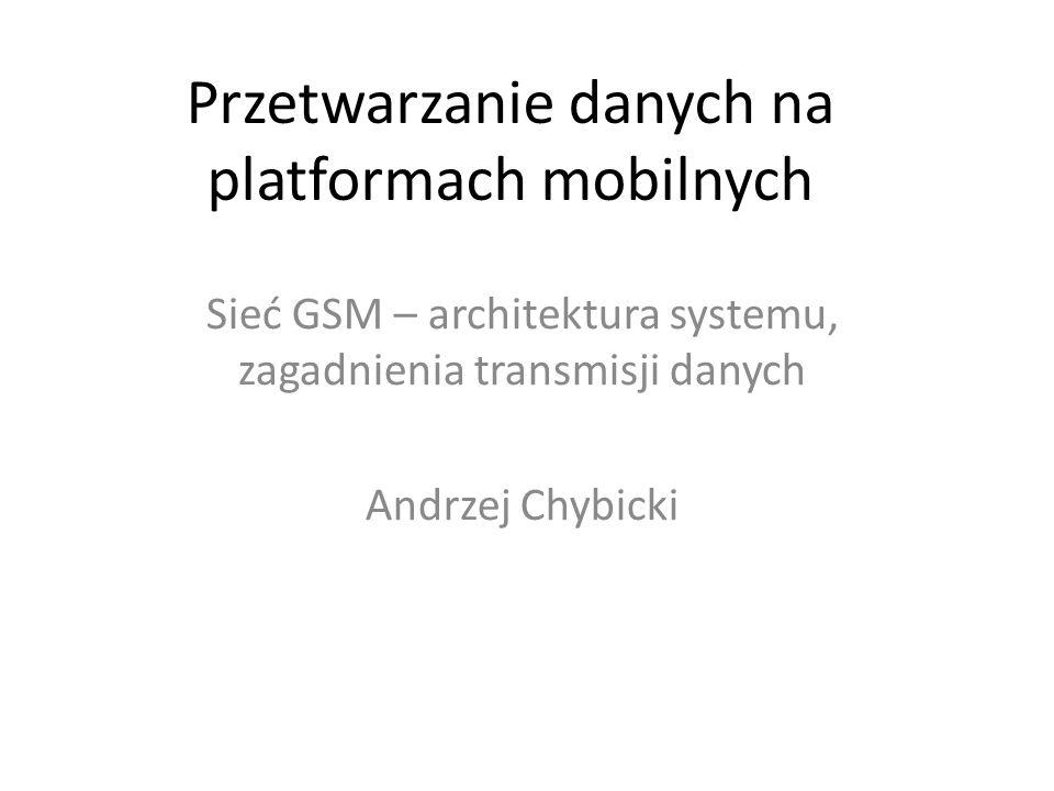 Przetwarzanie danych na platformach mobilnych