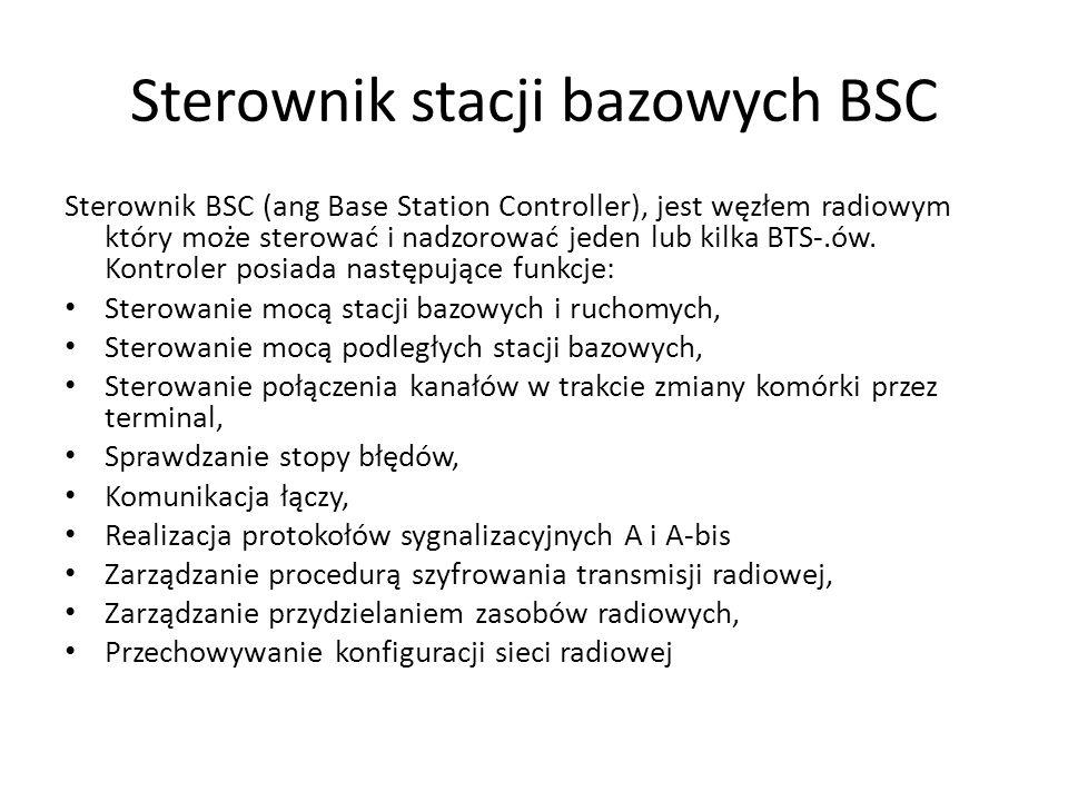 Sterownik stacji bazowych BSC