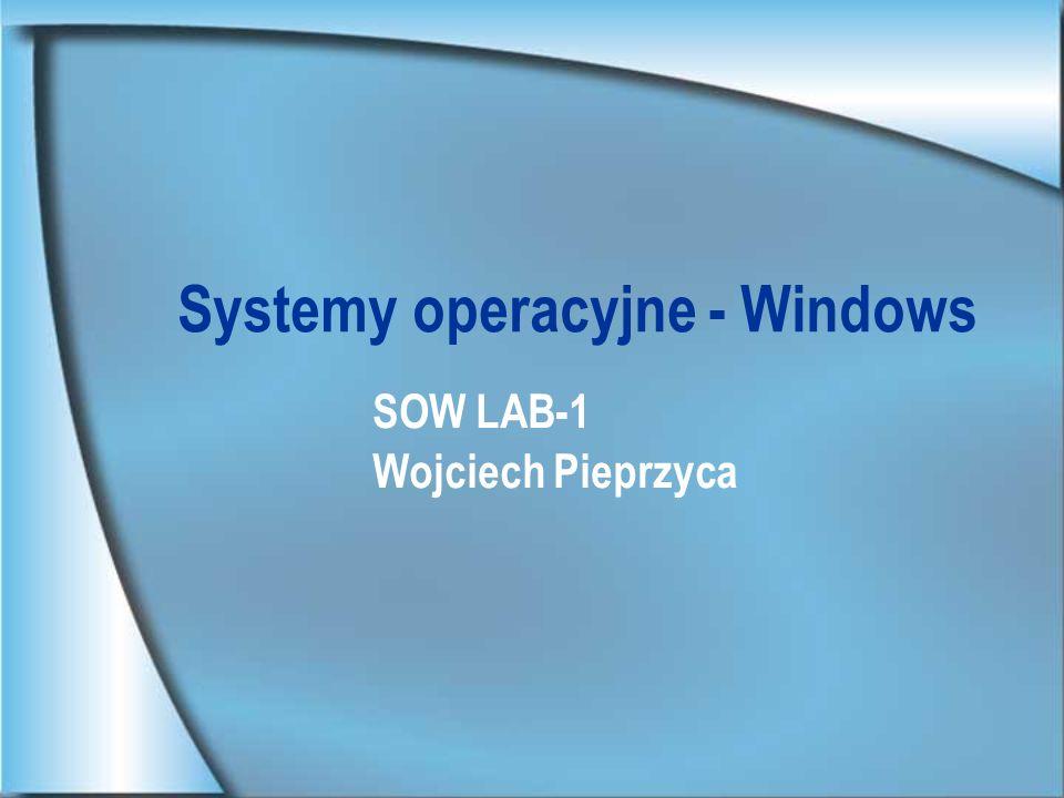 Systemy operacyjne - Windows