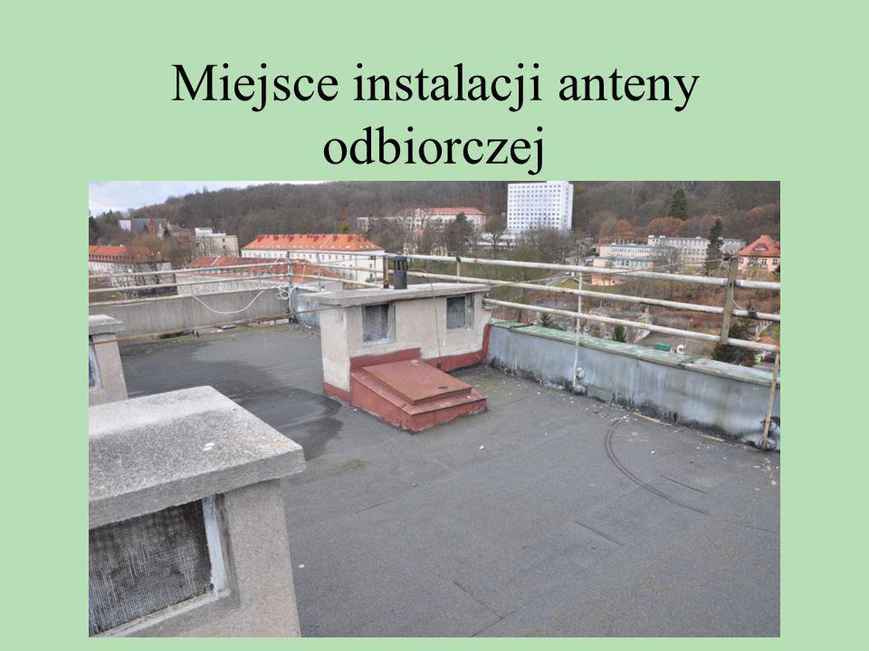 Miejsce instalacji anteny odbiorczej