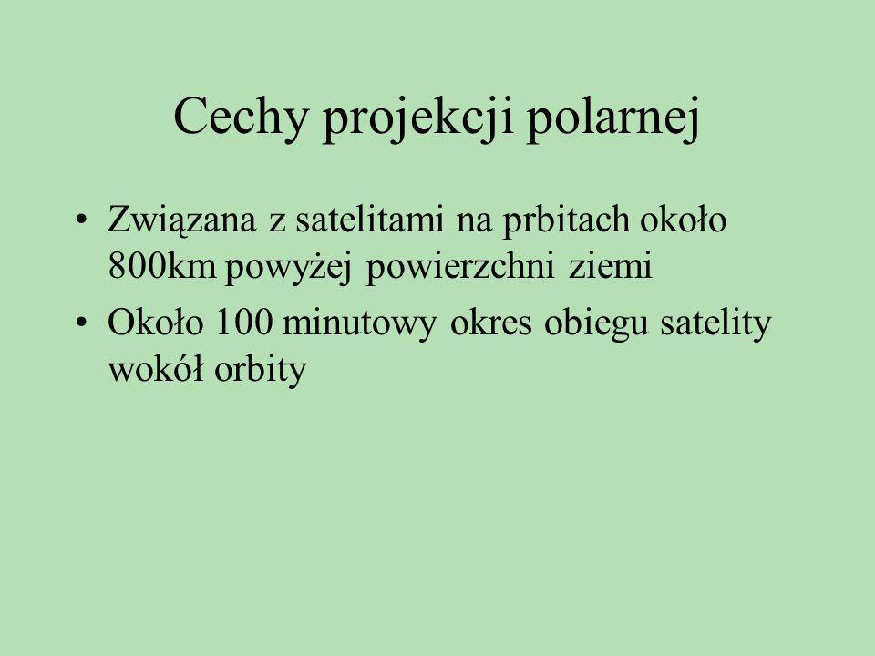 Cechy projekcji polarnej