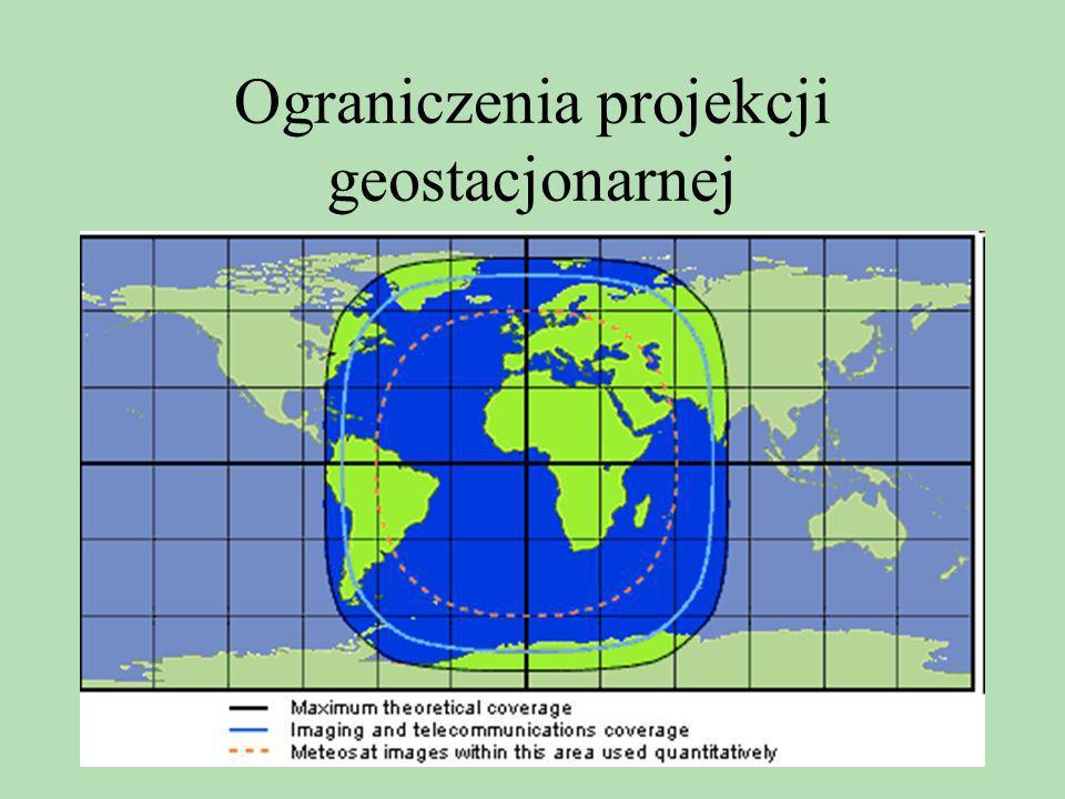 Ograniczenia projekcji geostacjonarnej
