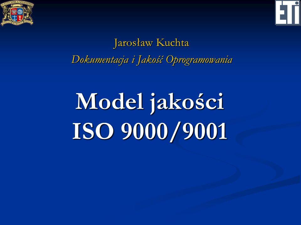 Jarosław Kuchta Dokumentacja i Jakość Oprogramowania