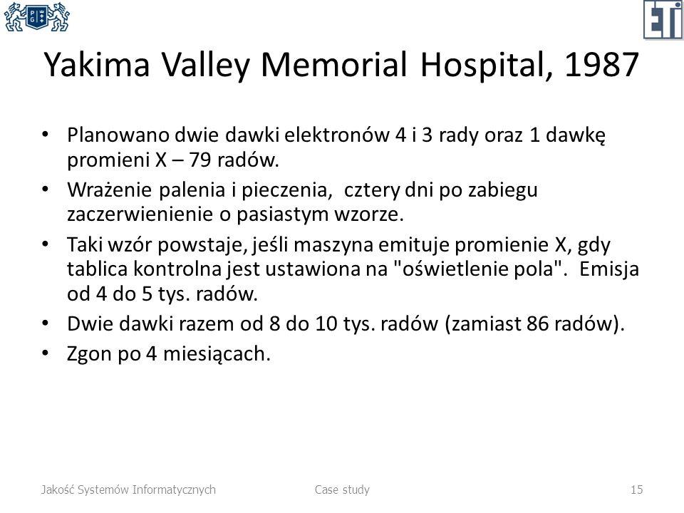Yakima Valley Memorial Hospital, 1987