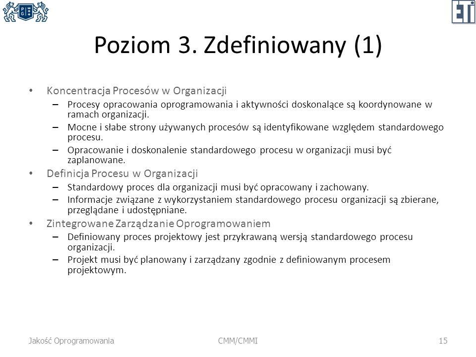 Poziom 3. Zdefiniowany (1)